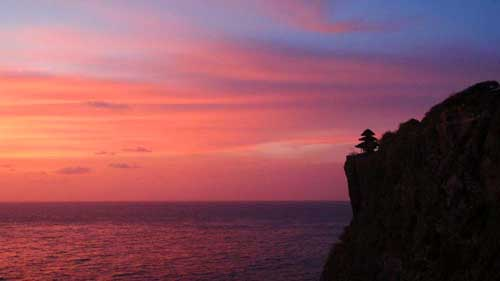 bali cliff front land for sale 2 - Exceptional cliff front land for sale Bali Pecatu elite location