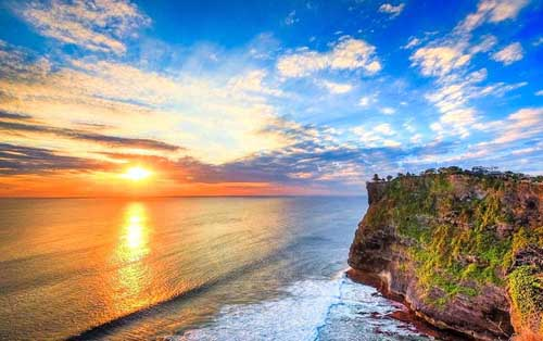 bali cliff front land for sale 4 - Fantastic Bali cliff land for sale in the area of Ungasan