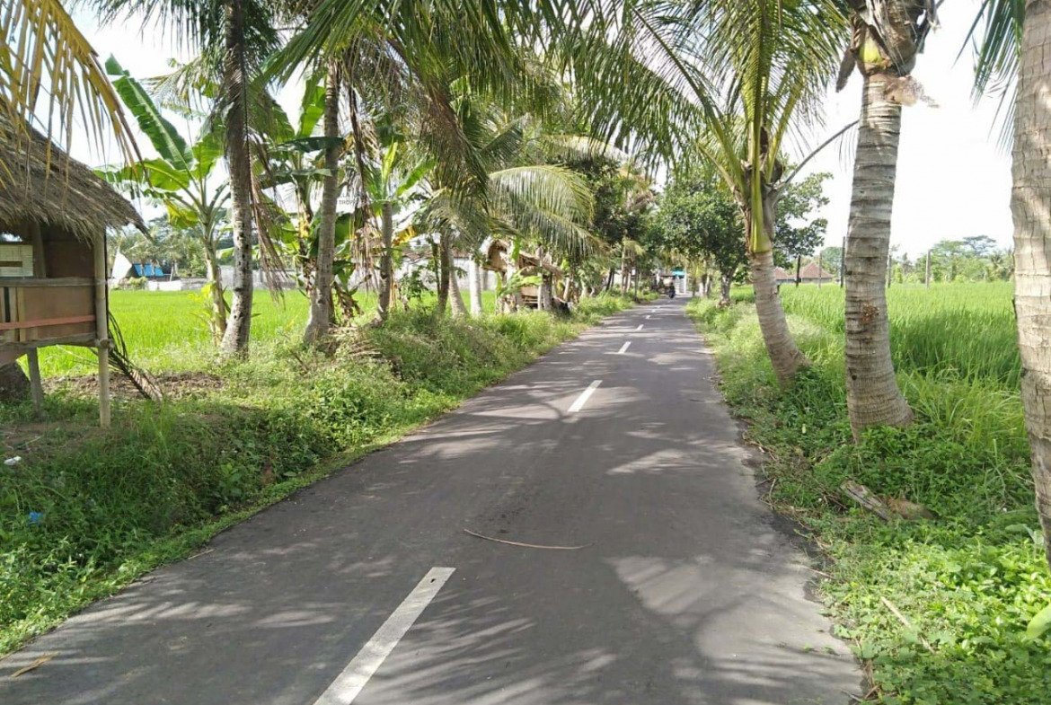 Tropical Bali property for sale on a prime location of Ubud